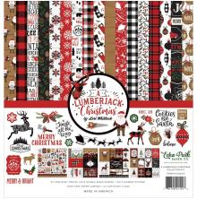 Echo Park Collection Kit 12X12 - A Lumberjack Christmas