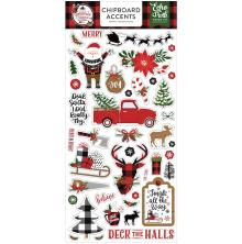Echo Park A Lumberjack Christmas Chipboard 6X13 - Accents