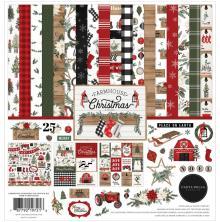 Carta Bella Collection Kit 12X12 - Farmhouse Christmas