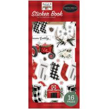 Carta Bella Sticker Book - Farmhouse Christmas