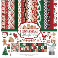 Echo Park Collection Kit 12X12 - A Gingerbread Christmas