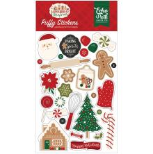 Echo Park Puffy Stickers - A Gingerbread Christmas