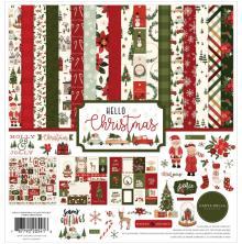 Carta Bella Collection Kit 12X12 - Hello Christmas