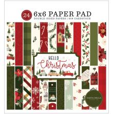 Carta Bella Double-Sided Paper Pad 6X6 - Hello Christmas