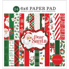 Carta Bella Double-Sided Paper Pad 6X6 - Dear Santa