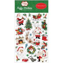 Carta Bella Puffy Stickers - Dear Santa