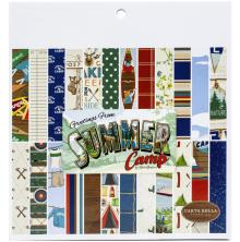 Carta Bella Double-Sided Paper Pad 6X6 - Summer Camp