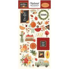 Carta Bella Hello Autumn Chipboard 6X13 - Accents