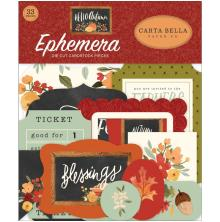 Carta Bella Hello Autumn Cardstock Die-Cuts 33/Pkg - Icons