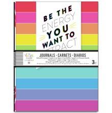Me & My Big Ideas Happy Planner Journal Books 3/Pkg - Radiate Positivity
