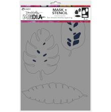 Dina Wakley Media Stencils + Masks 6X9 - Tropical