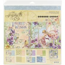 Graphic 45 Collection Pack 12X12 - Fairie Wings