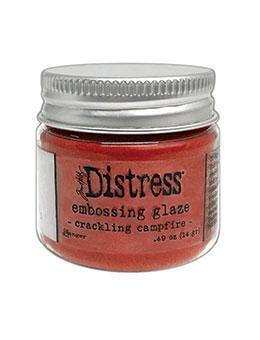 Tim Holtz Distress Embossing Glaze - Crackling Campfire