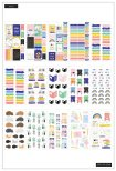 Me & My Big Ideas Happy Planner Sticker Value Pack - Bookish 680