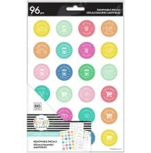 Me & My Big Ideas Happy Planner Dry Erase Removable Decals