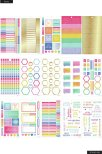 Me & My Big Ideas Happy Planner Sticker Value Pack - Brights Skinny Classic