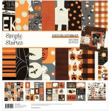 Simple Stories Collection Kit 12X12 - Boo Crew