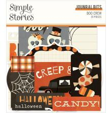 Simple Stories Bits & Pieces Die-Cuts 39/Pkg - Boo Crew Journal