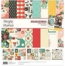 Simple Stories Collection Kit 12X12 - Apron Strings