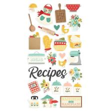 Simple Stories Chipboard Stickers 6X12 - Apron Strings