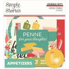 Simple Stories Bits & Pieces Die-Cuts 39/Pkg - Apron Strings Journal