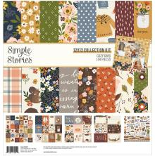 Simple Stories Collection Kit 12X12 - Cozy Days