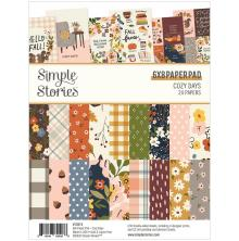 Simple Stories Double-Sided Paper Pad 6X8 - Cozy Days