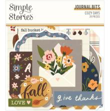 Simple Stories Bits & Pieces Die-Cuts 39/Pkg - Cozy Days Journal