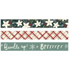Simple Stories Washi Tape 3/Pkg - Winter Cottage