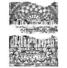 Tim Holtz Cling Stamps 7X8.5 - Renaissance