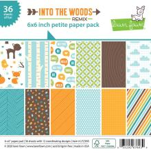 Lawn Fawn Petite Paper Pack 6X6 - Into The Woods