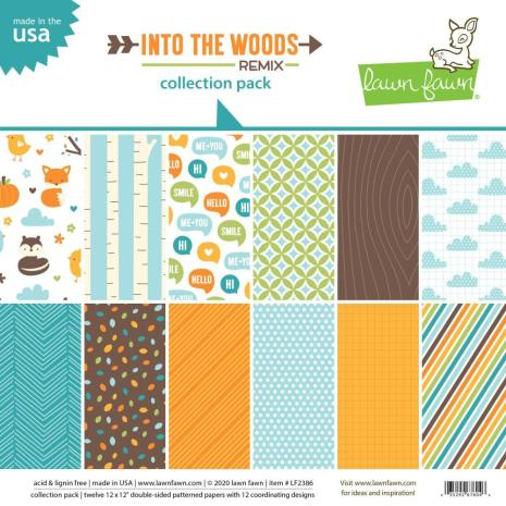 Lawn Fawn Collection Pack 12X12 - Into The Woods
