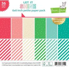 Lawn Fawn Petite Paper Pack 6X6 - Let It Shine