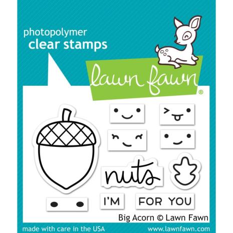 Lawn Fawn Clear Stamps 3X2 - Big Acorn