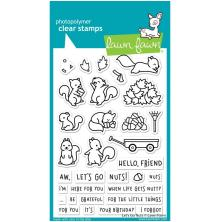 Lawn Fawn Clear Stamps 4X6 - Lets Go Nuts