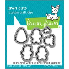 Lawn Fawn Dies - Tiny Gingerbread