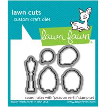 Lawn Fawn Dies - Peas On Earth