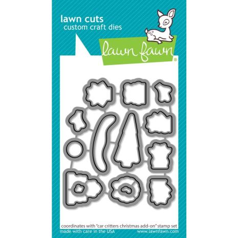 Lawn Fawn Dies - Car Critters Christmas Add-On