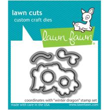 Lawn Fawn Dies - Winter Dragon