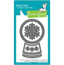 Lawn Fawn Dies - Shutter Card Snow Globe Add-On