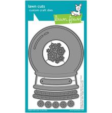 Lawn Fawn Dies - Magic Iris Snow Globe Add-On