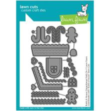 Lawn Fawn Dies - Build-A-House Gingerbread Add-On