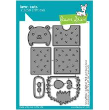 Lawn Fawn Dies - Tiny Gift Box Hedgehog Add-On