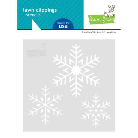 Lawn Fawn Stencils - Snowflake Trio