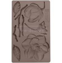 Prima Redesign Mould 5X8 - Winter Blooms