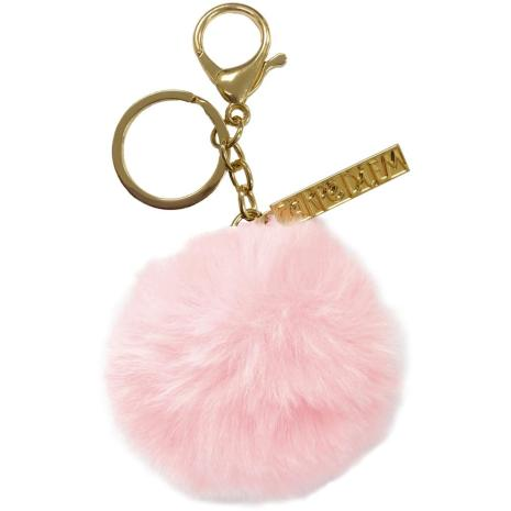 Carpe Diem Pom Pom Keyring - Ballerina Pink