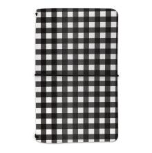 Carpe Diem Notebook Holder - Buffalo Check
