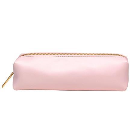 Carpe Diem Slim Pencil Case - Ballerina Pink