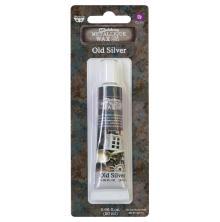 Prima Finnabair Wax Paste Metallique 20ml - Old Silver