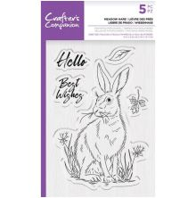 Crafters Companion Photopolymer Stamp - Meadow Hare